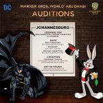 Warner Bros. World Abu Dhabi Auditions