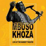 Mbuso Khoza live at the Market Theatre