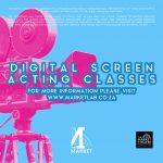 Digital Screen Acting Classes (Part-time)